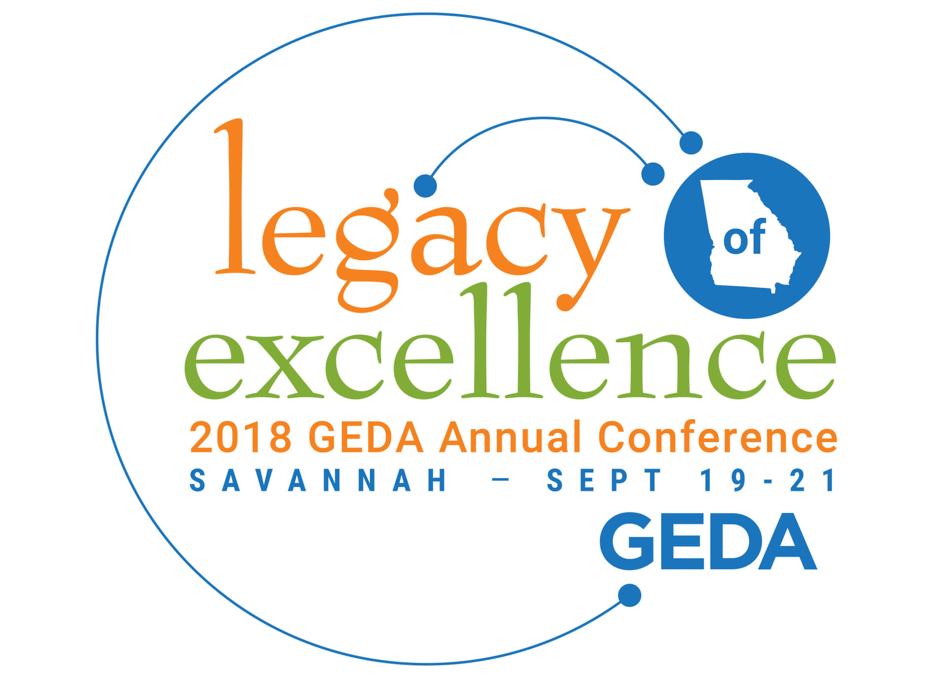 Georgia Economic Development Authority Conference Logo