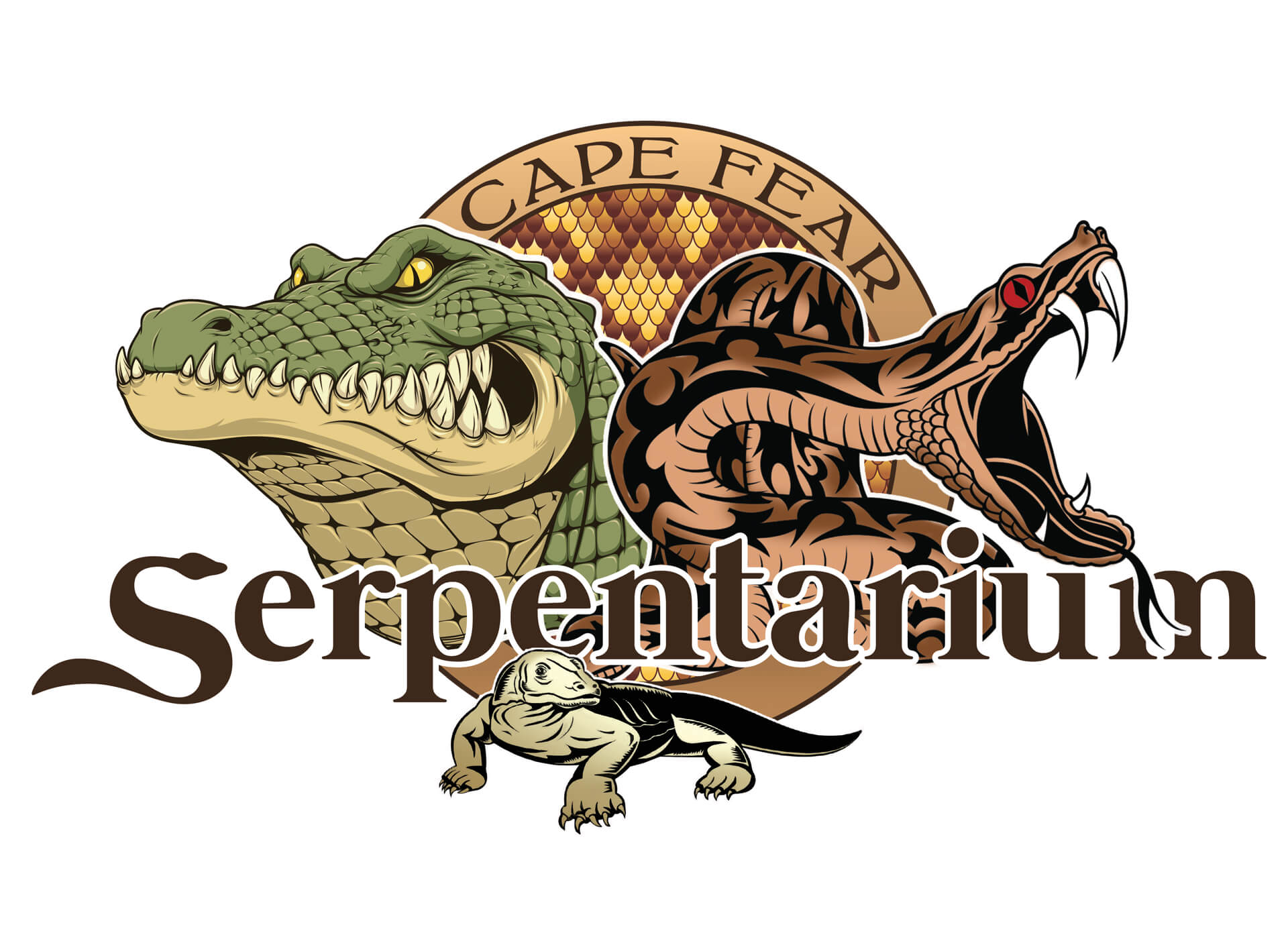 Cape Fear Serpentarium Logo