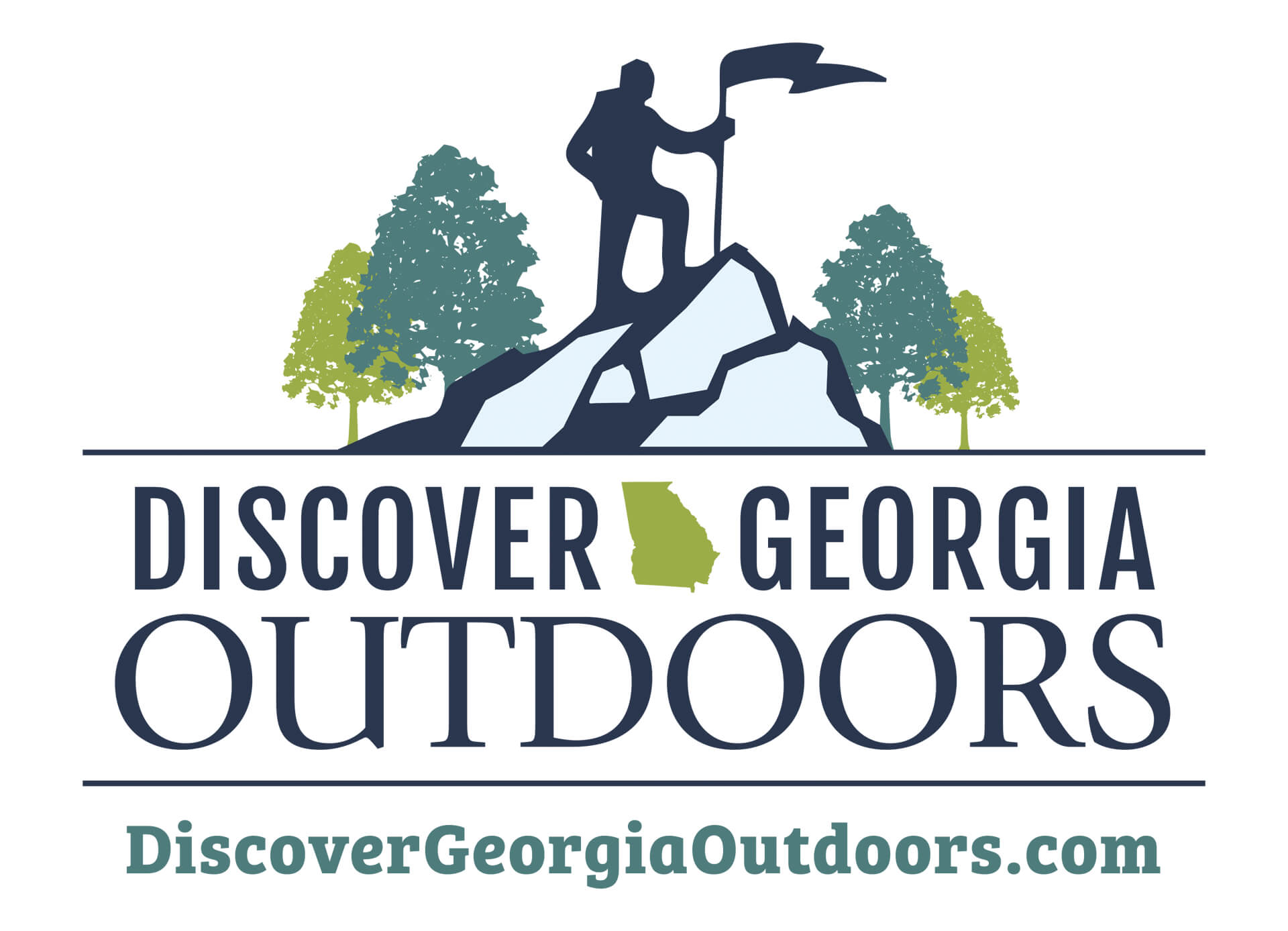 Discover Georgia Outdoors Logo