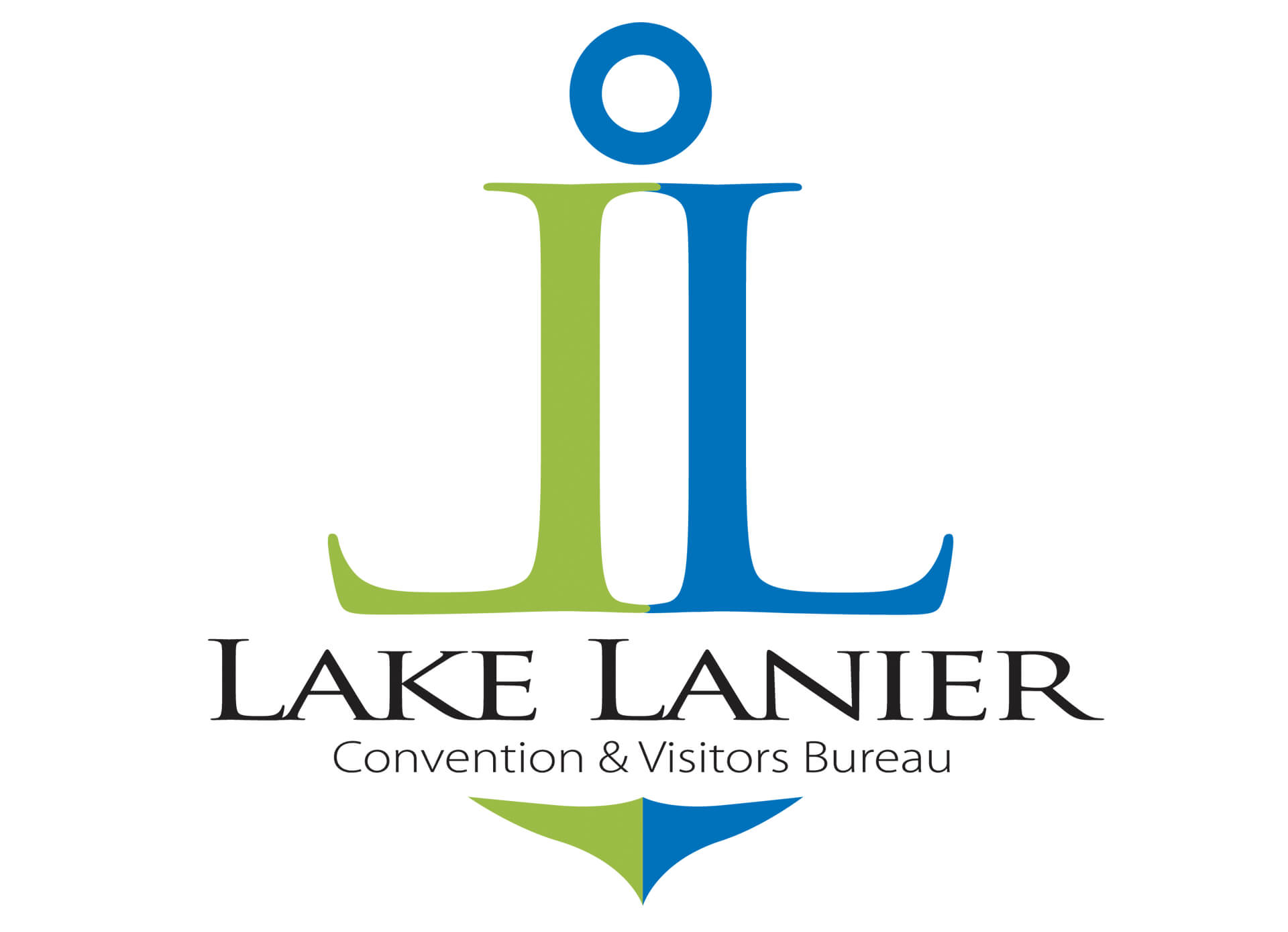 Lake Lanier Convention Visitors Bureau Logo