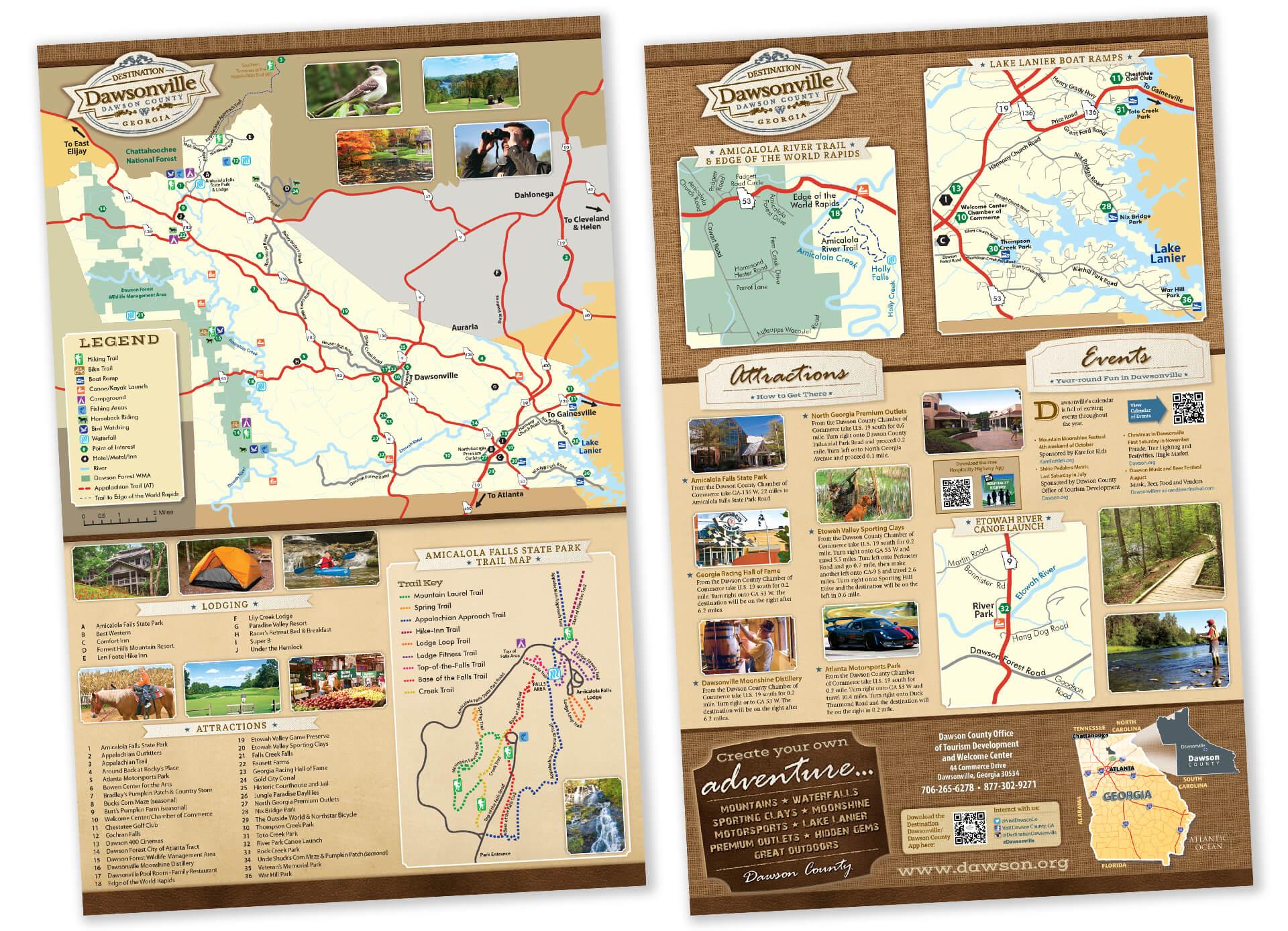 Lake Lanier Maps